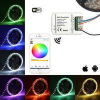 Telefon WiFi Led Controller LED-Dimmer Fernbedienung 5M 2835 5050 RGB RGBWW RGBW