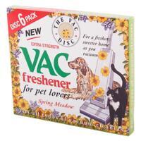 Vac Vacuum Cleaner Freshener Spring Meadow Hoover Disc For Pet Lovers Pack of 6