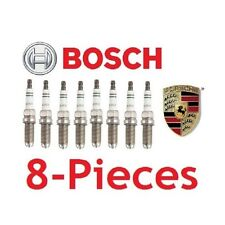 8-Pieces Bosch FGR5NQE0 Spark Plugs SET For Porsche 911 Boxster Cayenne