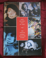 1997 12th Annual Rock Roll Hall of Fame Program Joni Mitchell Bee Gees Jackson 5