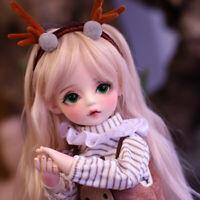 30cm BJD Doll 1/6 Mädchen Geschenk Puppe Mit Wechselbare Augen Perücken Kleidung