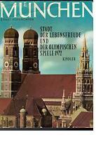 Ernst Hoferichter - München Stadt der Lebensfreude und Olympischen Spiele 1972