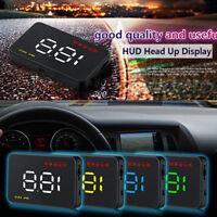 Car Head Up Display II HUD Projector Speedometer MPH KM/h Speed WarningJ LD