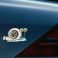 1x Funny Turbo Snail Decal Car Styling Bumper Window Wall Stickers Home Decal