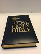 Catholic Edition Bible NAB Blue Padded Cover