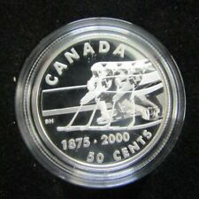 2000 Sterling Silver 50 Cent Peice- First Hockey Game
