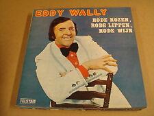 LP TELSTAR / EDDY WALLY - RODE ROZEN, RODE LIPPEN, RODE WIJN