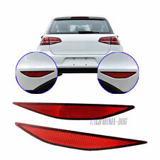 2Pcs Red OE L&R Sides Reflector Rear Bumper Reflector Links For VW Golf 7 MK7