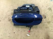 2000 00 BMW 528I BLUE LEFT DRIVER REAR EXTERIOR OUTER DOOR HANDLE