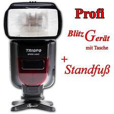 Triopo Blitz für NIKON D7500 D7200 D7100 Blitzgerät TTL-Steuerung + Tasche NEU