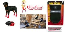 WATERPROOF DOG BOOTS Ultra Paws Durable Ice Snow ALL Weather Gear PawTectors