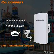 3Km Outdoor 5.8G Wireless Access Point WiFi Bridge Ap Network Router High Power