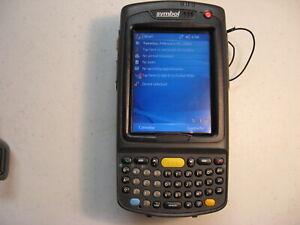 SYMBOL MOTOROLA MC7090-PK0DJQFA8WR 2D BARCODE SCANNER WIFI BLUETOOTH QWERTY MC70