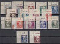 CU7624/ GERMANY SOVIET ZONE – MI # 212 / 227 COMPLETE MINT MNH