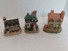 David Winter Cottages, lot of 3