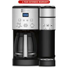Cuisinart 12-Cup Coffee Maker & Single-Serve Brewer (SS-15FR Refurb) + Warranty