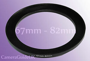 67mm to 82mm Male-Female Stepping Step Up Filter Ring Adapter 67mm-82mm