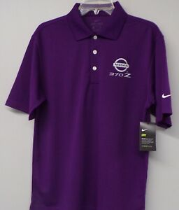 Nike Golf Dri-Fit Nissan 370Z Embroidered Mens Polo XS-4XL, LT-4XLT Datsun New