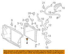 MERCEDES OEM 98-03 E320 3.2L-V6-Radiator Lower Insulator 2105040012