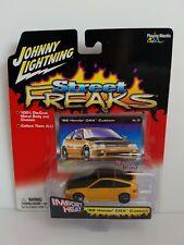 Johnny Lightning Street Freaks 1989 Honda CRX Custom Orange HTF