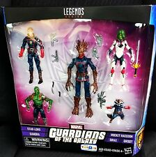 """Marvel Legends 3.75"""" GUARDIANS OF THE GALAXY Toys R Us 5-pack TRU Groot StarLord"""