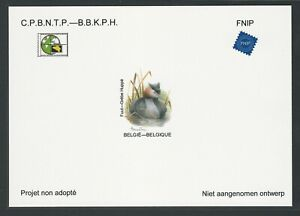 Belgium Non adopted proof - Great Crested Grebe - By A. Buzin. NA37 (2017)