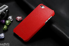 iPhone 5s/5 Hülle  Luxus Top Tasche ,Schute ,Cover Farbe Rot Case echtem Leder