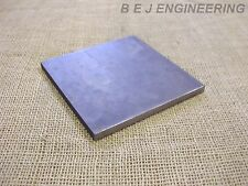 Black Steel Square Plate 150mm x 150mm x 10mm  Fixing-Mounting  - Mild Steel