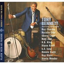 Playin' with My Friends: Bennett Sings the Blues by Tony Bennett (CD,...