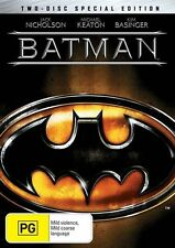 Batman (DVD, 2005, 2-Disc Set, Two Disk Special Edition) Micheal Keaton