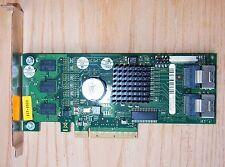 SAS SATA RAID Controller FSC D2516-A11 FP LSISAS8708 PCIe 2-CH/256MB + Händler +