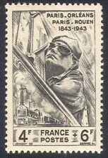 Francia 1944/trenes/Riel De Ferrocarril/Controlador de motor de vapor// transporte 1v (n23895)