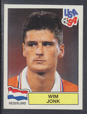 Panini - USA 94 World Cup - # 400 Wim Jonk - Nederland (Green Back)