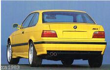 1993 BMW M3 Brochure/Catalog: M-3