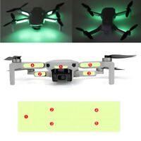 For DJI Mavic Mini Drone 2PCS Luminous Stickers Fluorescent Decals Night Flight
