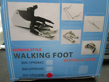 NEW WALKING FOOT ATTACHMENT TO FIT BERNINA 1008 SEWING MACHINES.