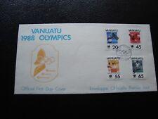 VANUATU - enveloppe 1er jour 1988 (B5)
