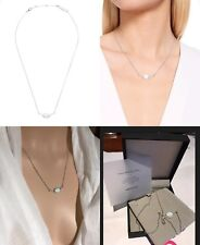 Mimco Stamped 925 Sterling Silver Opal Inspired Necklace Choker