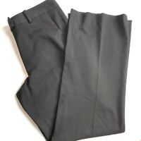 Brooks Brothers 346 Women's Size 6 Flat Front Stretch Black Pants