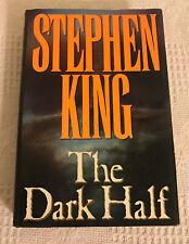 Stephen King The Dark Half ~ 1st Edition 1st Printing HC DJ 1989 ~ Viking Books
