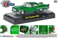 METALLIC GREEN 1957 CHRYSLER 300C M2 MACHINE 1:64 SCALE DIECAST METAL CAR