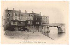 CPA 54 - PONT A MOUSSON (Meurthe et Moselle) - 12. Vieilles Maisons du Pont