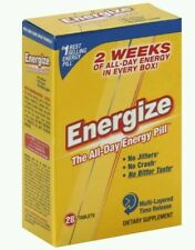 2x Europa Energize, The All-Day Energy Pill, 28 Count