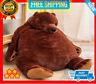 60cm Giant Simulation Soft Plush Toy Brown Teddy Bear Stuffed Animal Gift Toys