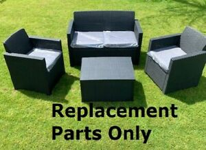 Allibert Garden Furniture - Spare Replacement Fixing Parts Screw Bolt Nut Merano
