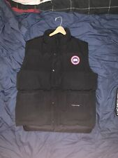 Canada Goose Freestyle Down Quilted Vest Black Large Excellent Condition