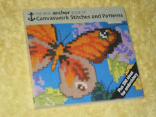 THE NEW ANCHOR BOOK OF CANVASWORK STITCHES & PATTERNS Eve Harlow 1990 embroidery