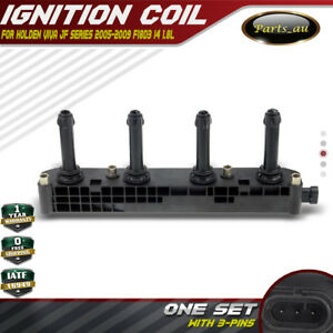 Ignition Coil for Holden Viva JF 2005-2009 4 Cyl. 1.8L F18D3 Engine DOHC