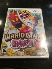 Wario Land: Shake It! (Nintendo Wii, Brand New Factory Sealed