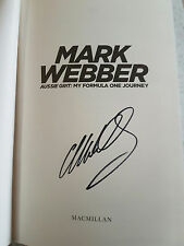 Aussie Grit - 'BRAND NEW' Hardcover Book SIGNED by Mark Webber (Hardback, 2015)